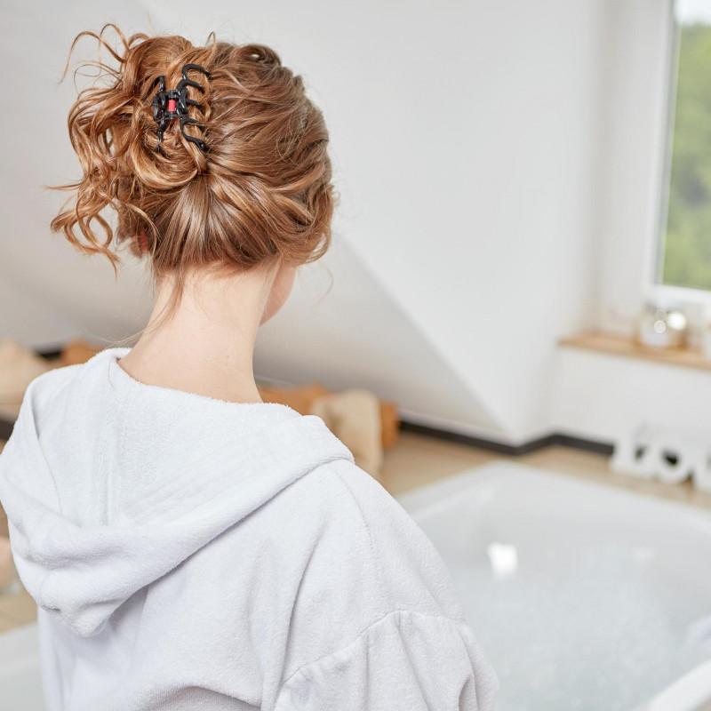 neue Haarklammer Bad